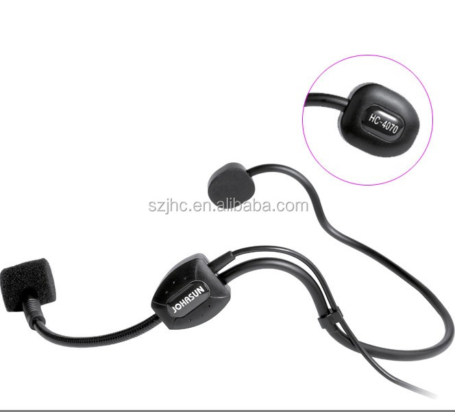 Headset Microphones Head Wearing Type 3 Pin 4 To Pin Xlr Ear Hanging Type Microphone KIMAFUN