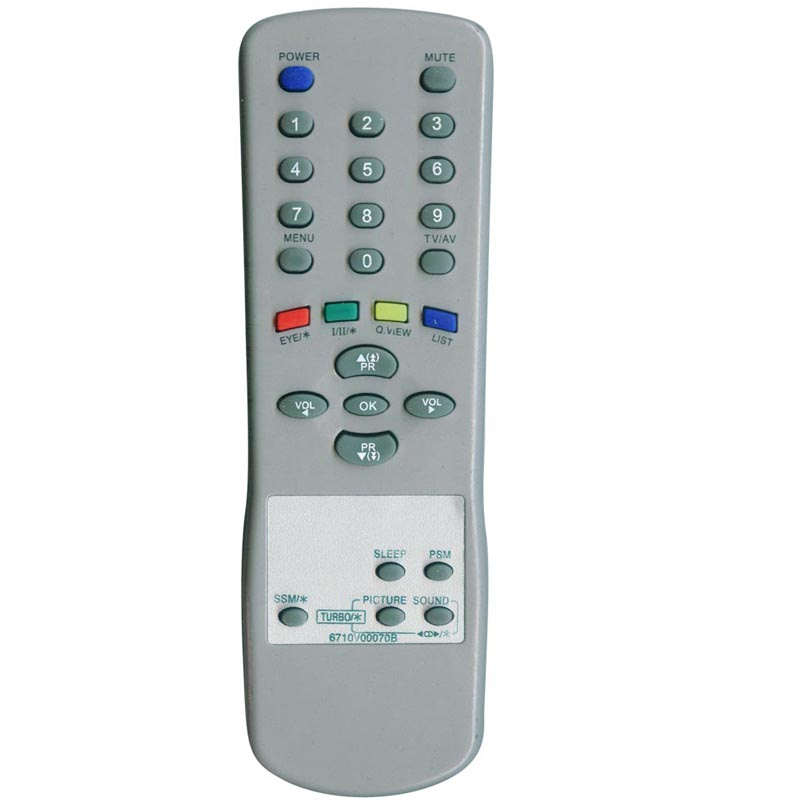 for lg tv remote codes universal remote control tv for 6710V00070B
