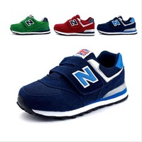 N small children shoes sports shoes Velcro slippery wear-resisting joker leisure men and women running shoes