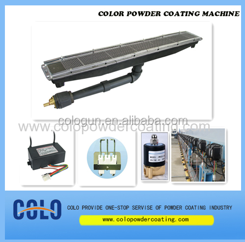 Infrared powder coating heater HD162