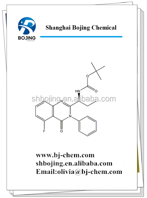 CAS NO 870281-85-9(S)-tert-butyl (1-(5-fluoro-4-oxo-3-phenyl-3,4-dihydroquinazolin-2-yl)propyl)carbaMate Basic information