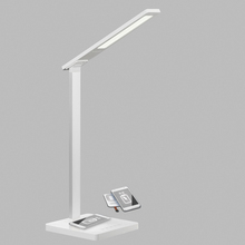 Luxure Magnifying Shade Flexible Rgb Arm Desk Lamp Light With Usb