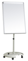magnetic whiteboard flip chart aluminum frame drawing white board clip paper can customize with stand