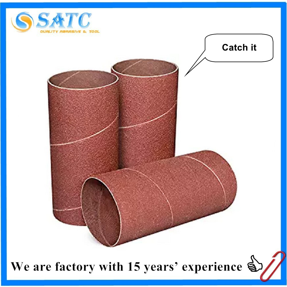 chinese supplier native factory abrasive sanding drum sanding sleeve