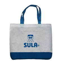 Four color printing factory customized non woven shop bag, nice eco-friendly woven bag, nice new style canvas bag