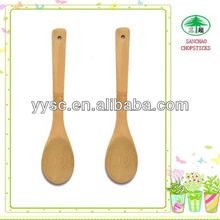 Eco-friendly bamboo fork and spoon for sushi coffee and tea