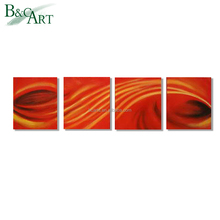 Hot Abstract Painting on Canvas,Decorative Pictures for Bathrooms Stretched Wall Art