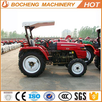 Mini garden tractor price 35hp sunshade Grassland tires for sale
