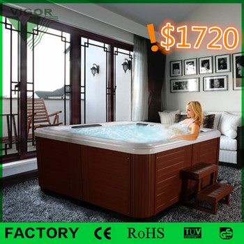 Factory 2014 wholesales Promotion price US Acrylic japan home sex massage hot spa