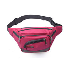 2017 SUPER SEPTE New Multi-functional 6 Zipper Pockets Running Waist Bag with Cell Phone Pouch