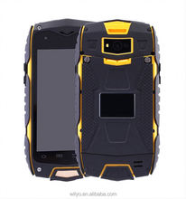 "High Quality Unlocked MTK6582 Quad Core 4"" Dual 3G SIM Card Android Waterproof Rugged Cell Phone"