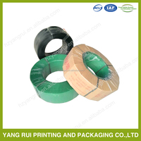 polyester strapping belt plastic packing band for stainless coile bale