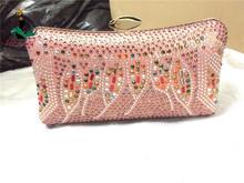 Haniye SGB16-1 pink lovely italian clutch bag for women party/wholesale clutch bag with full stones in high quality