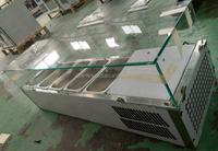 Commercial kitchen salad bar fridge/Table top sale refrigerator CE