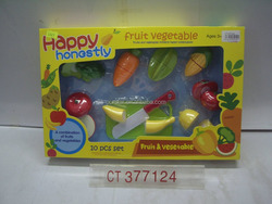 2016 Hot New Fruit & Vegetable Cutting Game Toys