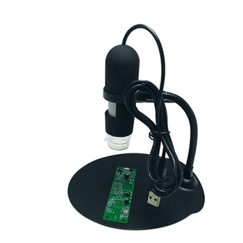 With LED lights USB digital microscope 5mp for pcb detection