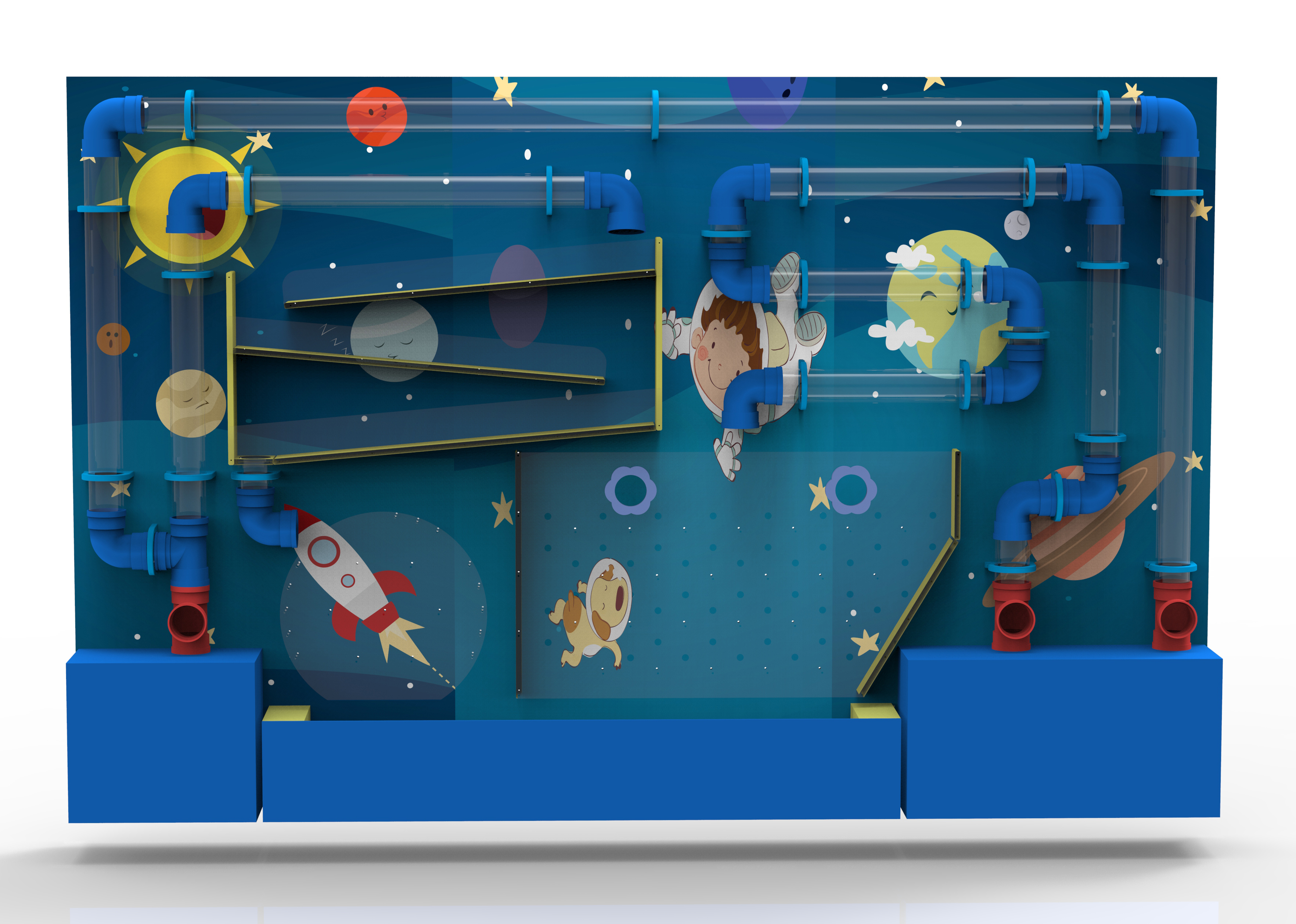 indoor playground playing ocean ball game naughty castle