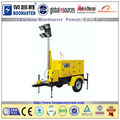 CE Approved 6.5Kw Diesel Generator Mobile Light Tower