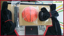 Plastic mini basketball backboard set