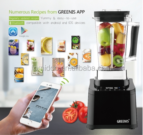 New Arrival!! GREENIS Newest,Kitchen Appliance,Six-leaf blades,lower noise,BLDC Power Blender