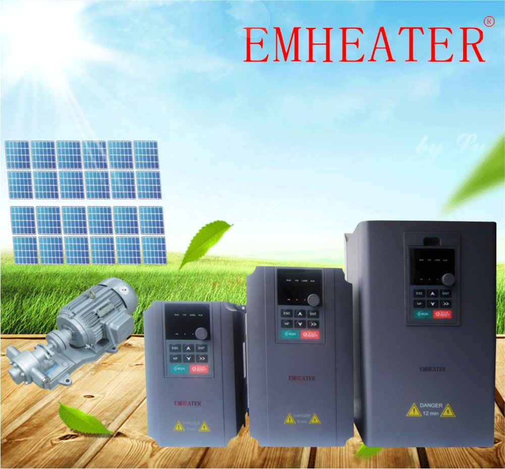 PV reversed connection protection 18.5kw solar water pump inverter 25hp variable frequency drive for irrigation