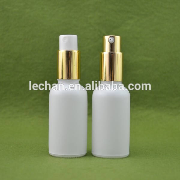 5ml 15ml 20ml 30ml 50ml 60ml 100ml white pump glass bottle for cosmetics e liquid e juice wholesale in China--stock!!!