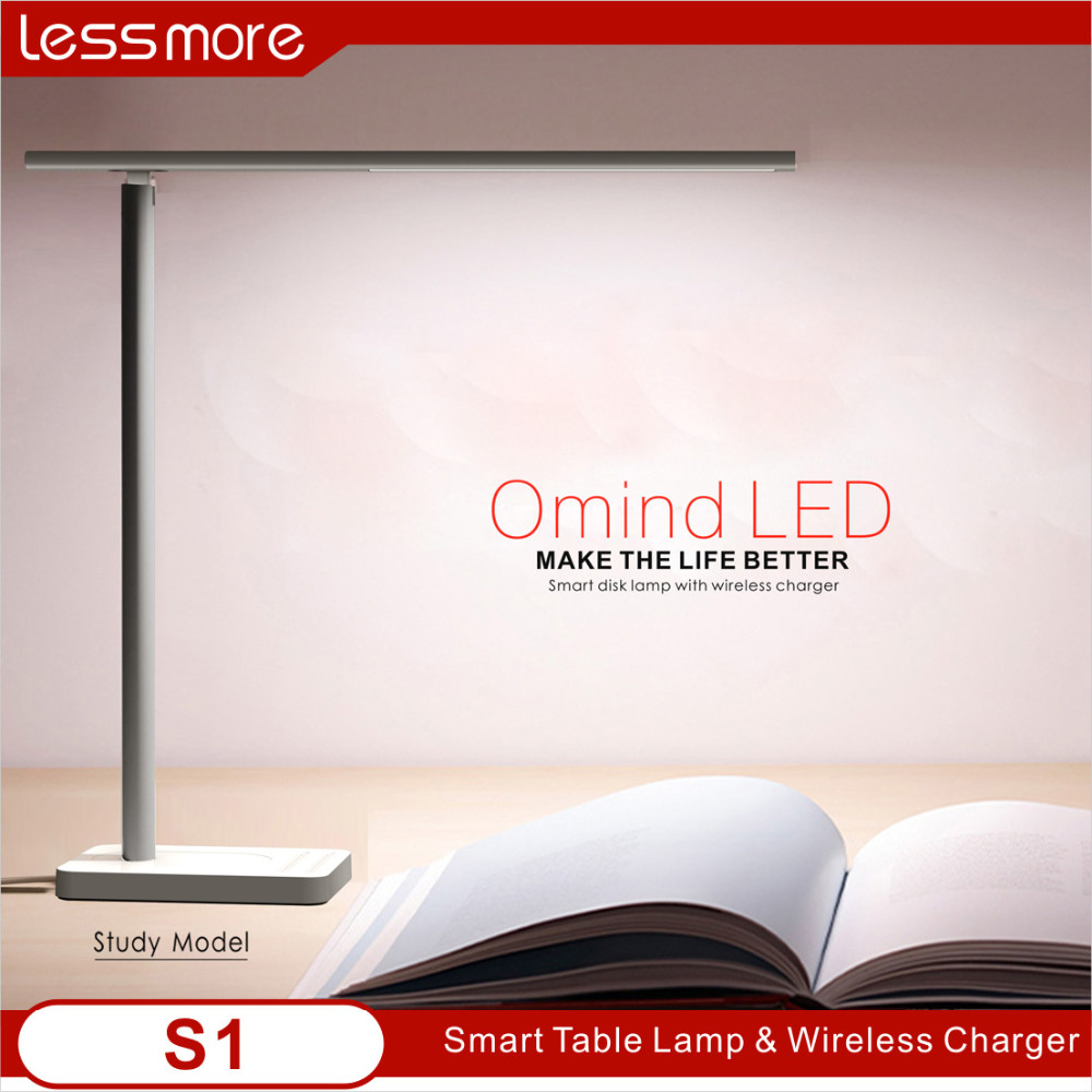electronic gadgets 2017 led desktop lamp with wireless charger, for iPhone 8, iPhone X