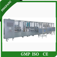 New Design SRS6A Non-PVC Film Soft Bag IV Infusion Solution Production Line