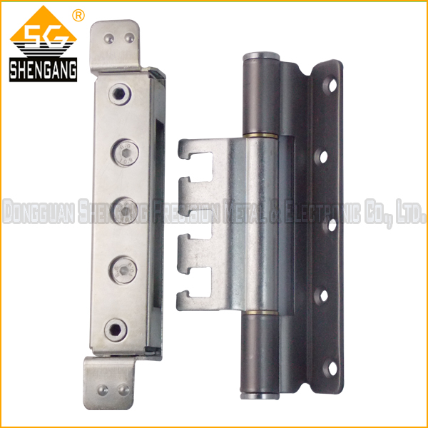 180 degree SS heavy duty 3D adjustable fire rated door hinges