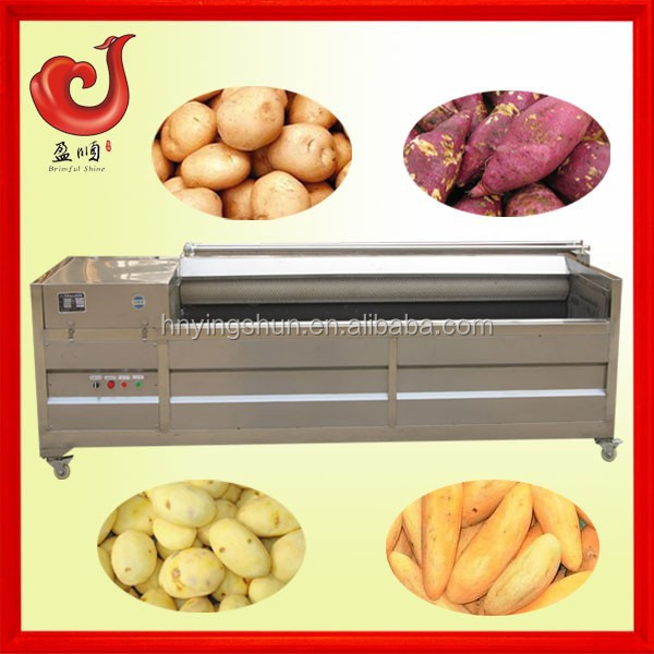 Best sale automatic stainless steel ginger garlic peeling machine