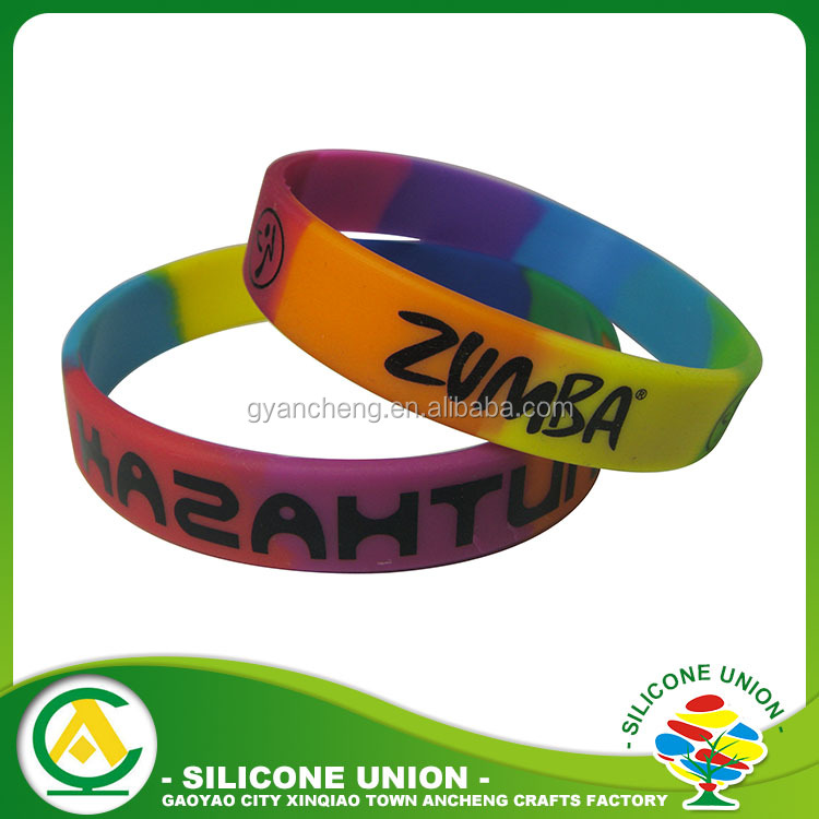 Customized Logo promotion gifts silicone hand band / silicone wristband