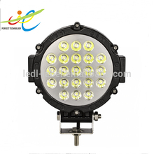 "High Power LED Work Light, Offroad Working Lamp, Truck 7"" 63W LED Driving Light"
