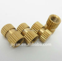 Alibaba China supplier brass/aluminium/stainless steel blind threaded inserts for plastic low price