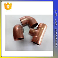 LB-Guten Top competitive price best sale 35mm forged cw617n brass 1/2 npt male x 3/4 npt female threaded copper pipe fittings