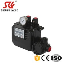 Electro pneumatic valve positioner with PVC material