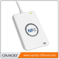 NFC card encoder/reader