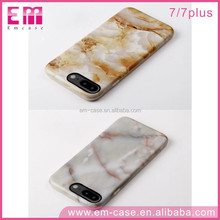 IMD Series TPU Cell Phone Skin For iPhone7 7plus Full Cover Marble Picture Phone Case For iPhone7
