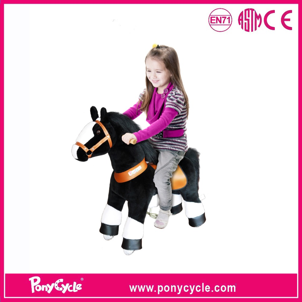 PonyCycle children ride on toys suffed animal for 2015 hot sale