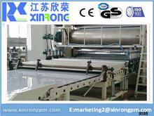 plastic pmma ps pc sheet making machine sheet can recycling
