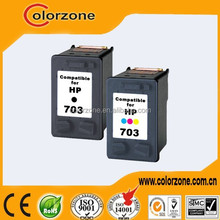 Best price remanufactured refill ink cartridge for hp 703