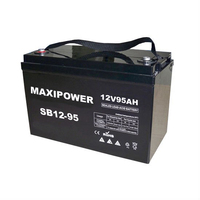 Deep Cycle AGM Battery for Solar System/UPS/Maintenance-free/High Discharging Capacity
