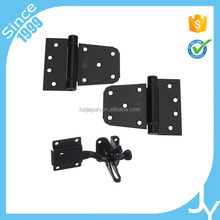 Hot sale heavy duty self closing gate kit of door spring hinges and adjustable gate latch