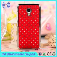 Phone Case For Huawei Y300 Bling Crystal Diamond Metal Case For Huawei Mobile Phone Cover