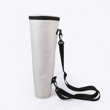 Grey Color Padded Polyester Shoulder Telescope Case Storage Bag Padded Telescope Case