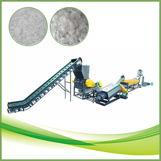 PE PP recycling system plastic washing machine