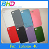 Hot Selling hard Case For Apple Iphone 4 Quicksand Case colorful