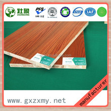 Wood Grain Color Melamine Paper Faced Laminated Board