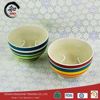 Ceramic Baby Plates And Ceramic Bowl With Edge