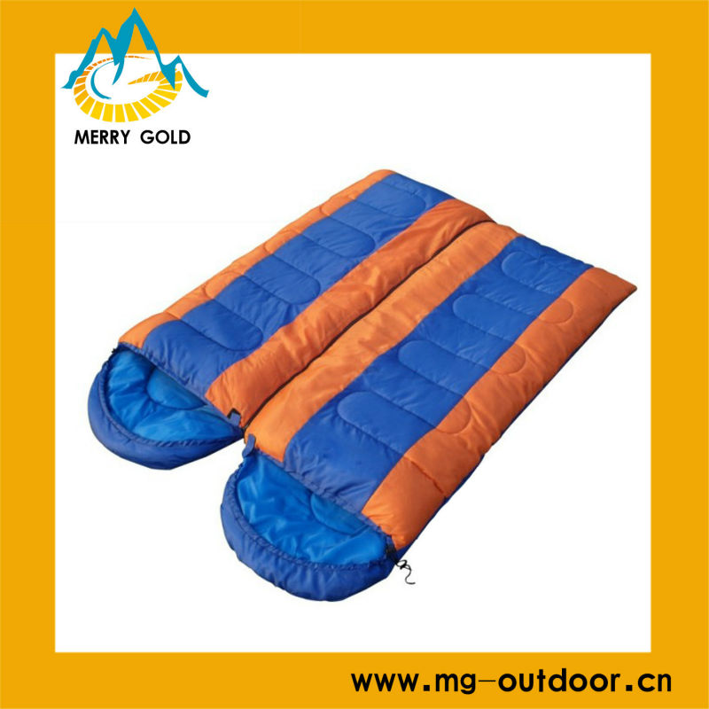 Warm top quality outdoor colourful sleeping bags