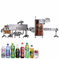 HTB-400 new hot sale Automatic Labeling Machine PVC Shrink Film Shrink Sleeve Label Printing Machine